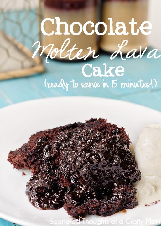 Chcoolate Molten Lava Cake
