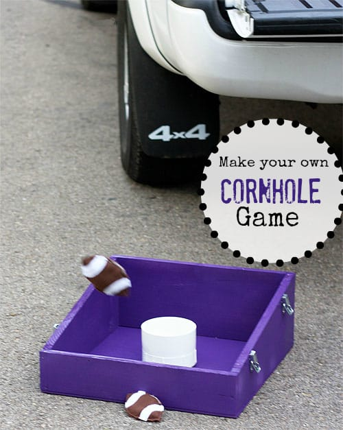 How To Build A Cornhole Game