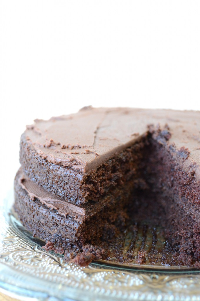 Hersheys Chocolate Mayonnaise Cake
