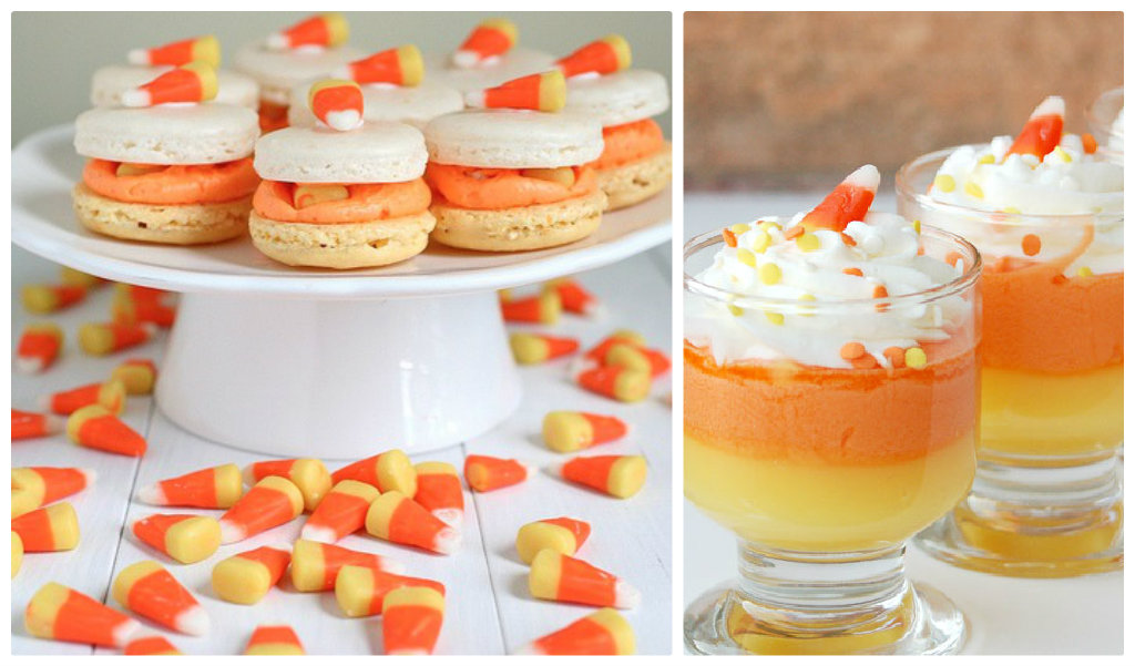 candy corn cups