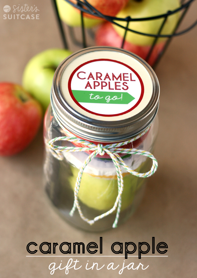 Caramel Apple Gift In A Jar By My Sisters Suitcase