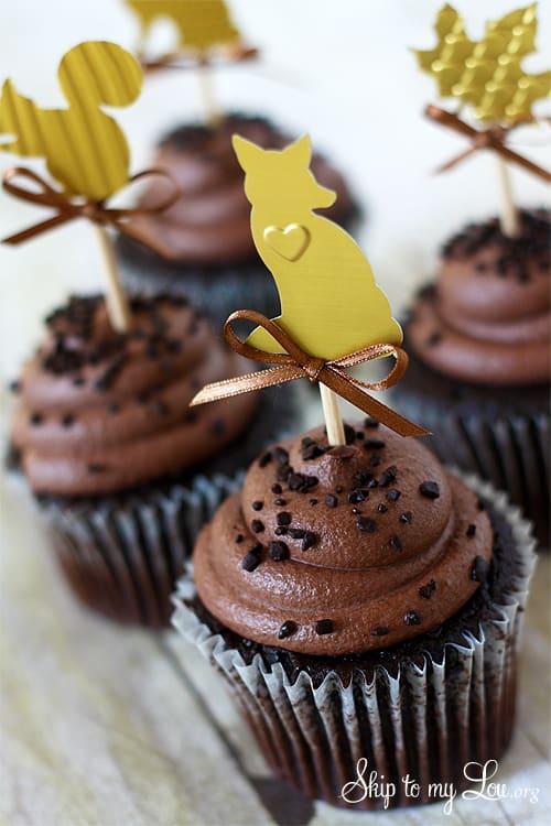 Diy Embossed Metal Cupcake Topper