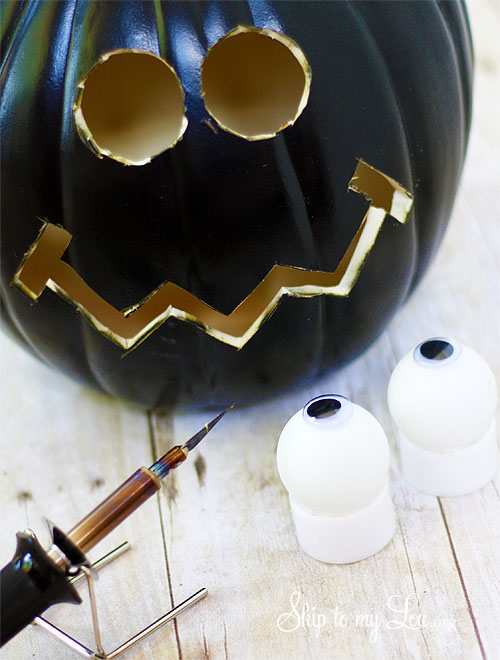 Pumpkin Carving Diy Lighted Eyes