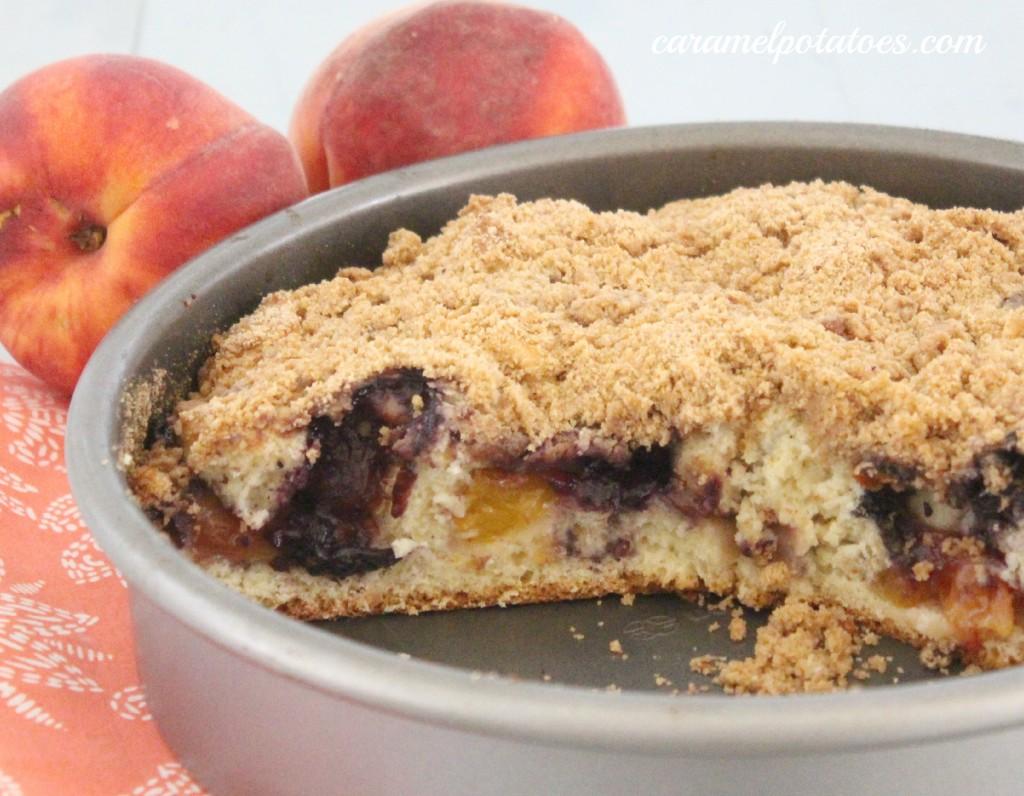 peach berry buckle recipe