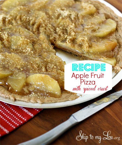 apple fruit pizza