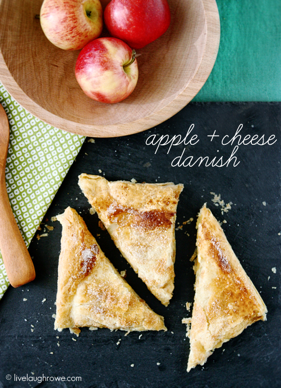 apple and cheese danish