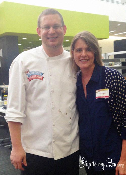 Chef Joe Cindy Hopper Duncan Hines Test Kitchen