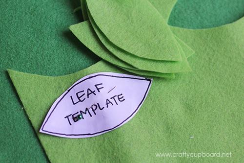 Holly Wreath Leaf Cut Out