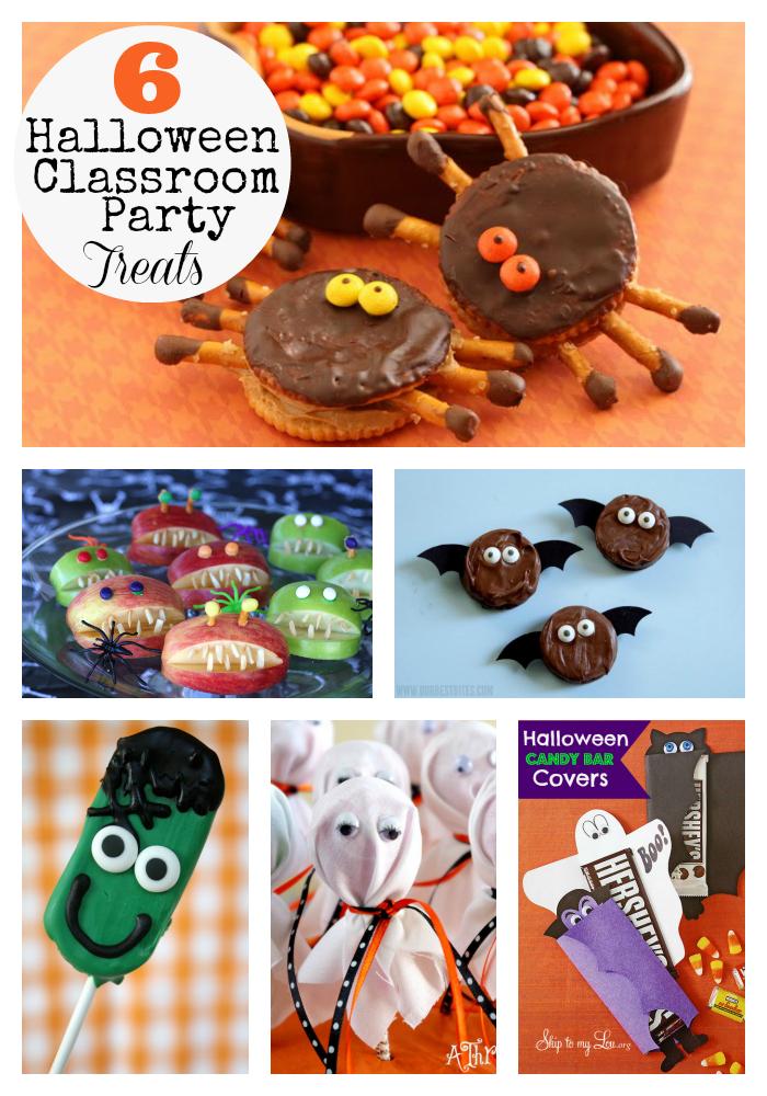 Classroom Birthday Party Treat Ideas ~ Creative ways to make halloween classroom treats