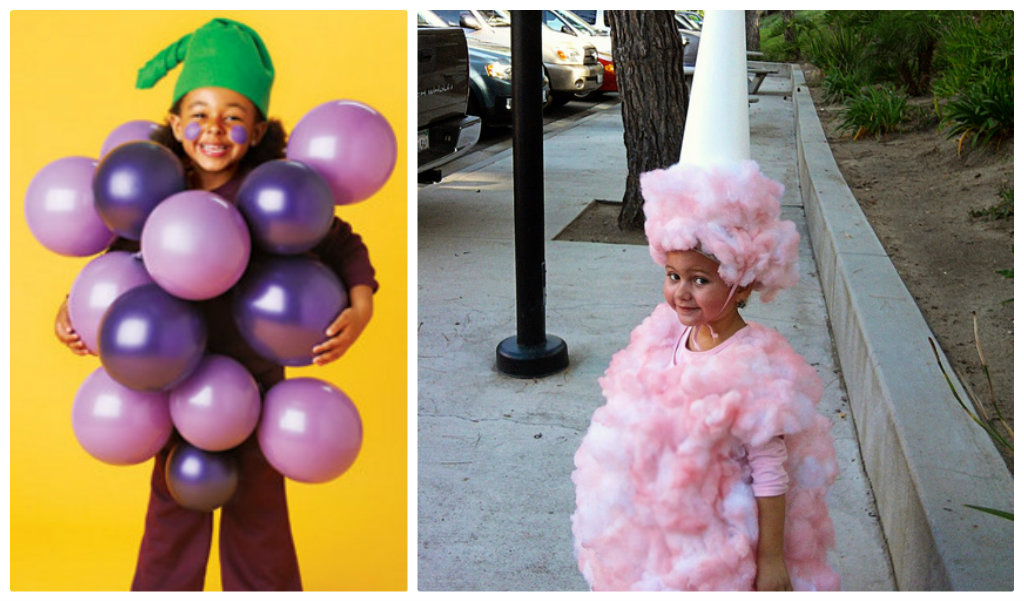cotton candy halloween costume  sc 1 st  Skip To My Lou & 12 DIY Halloween Costume Ideas