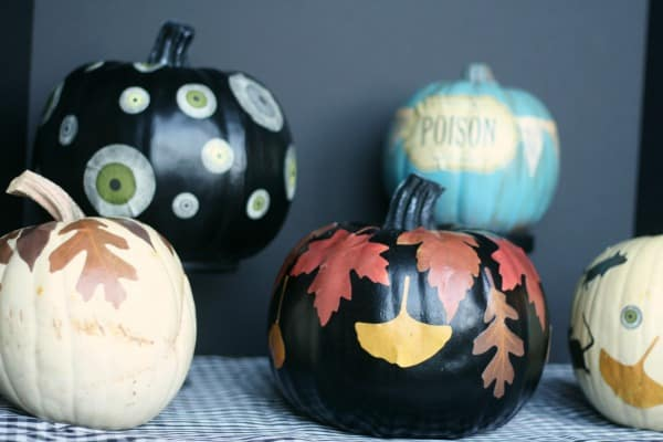 6 Perfect No Carve Pumpkin Ideas
