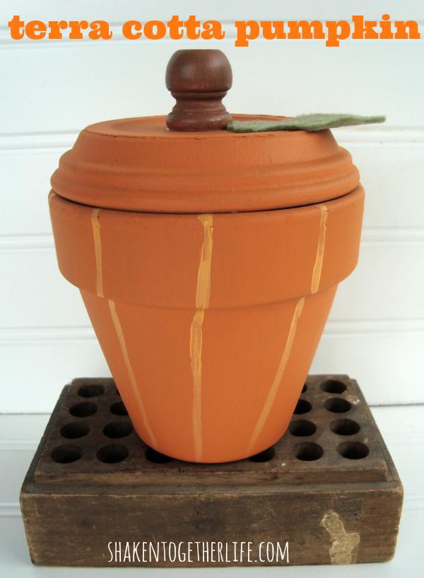 easy fall pumpkin craft