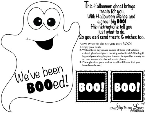 free booing printable