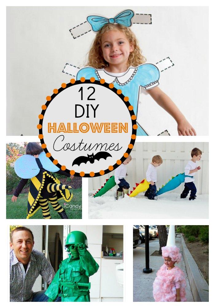 12 diy halloween costume ideas. Black Bedroom Furniture Sets. Home Design Ideas