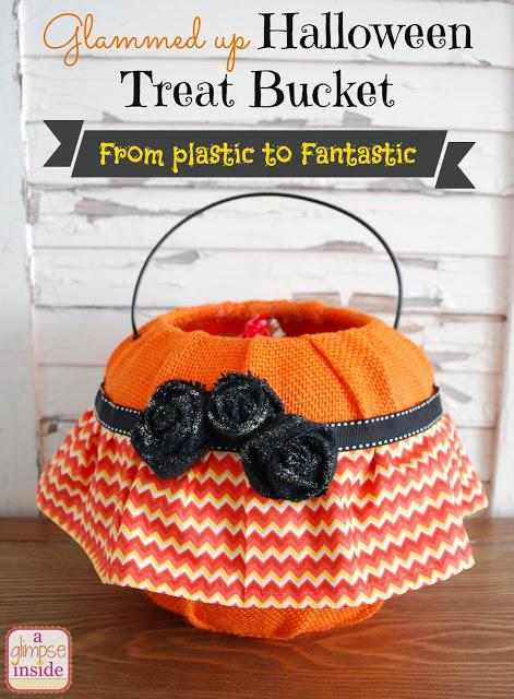 halloween treat bucket