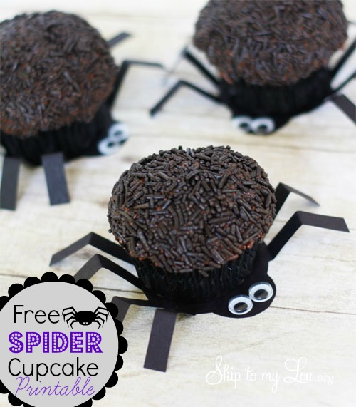 spider-cupcake-printable