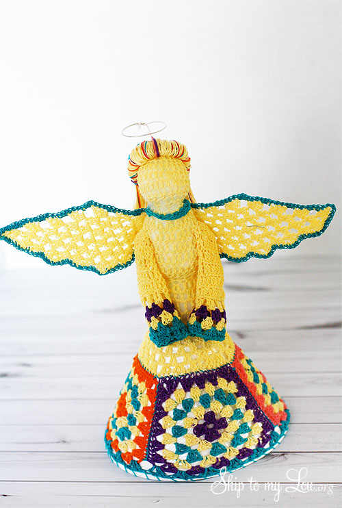 Crochet Christmas Tree Angel