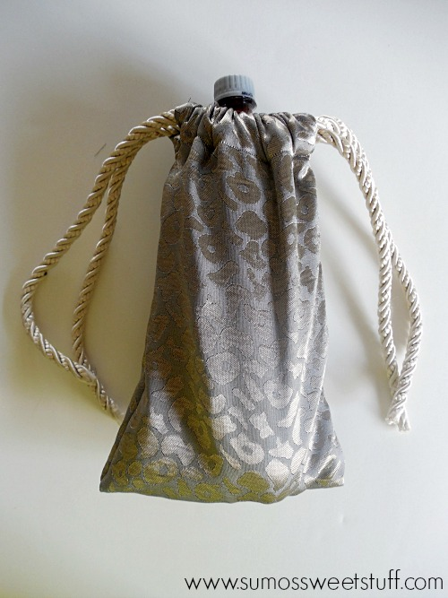 Drawstring Bottle Bag by SumosSweetStuff.com