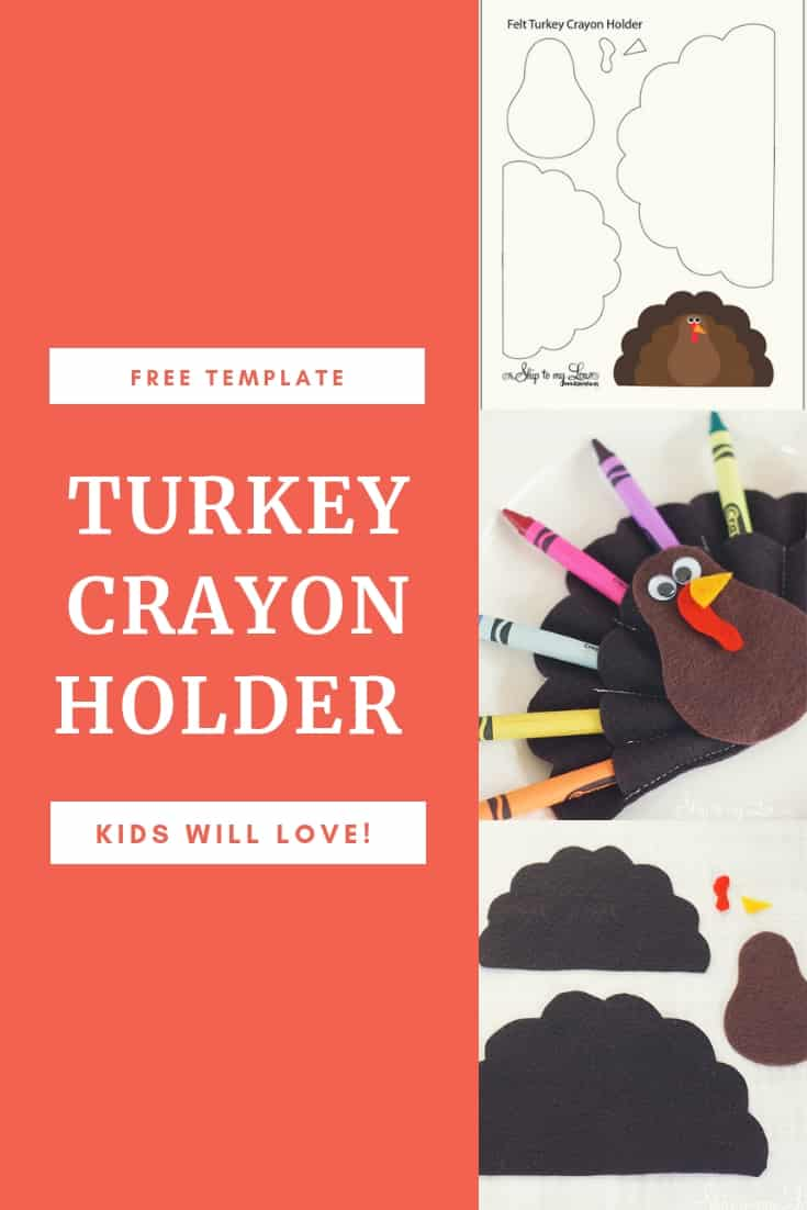 Felt Turkey Holder Graphic