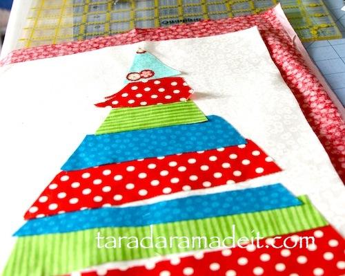 Holiday handmade sewing craft