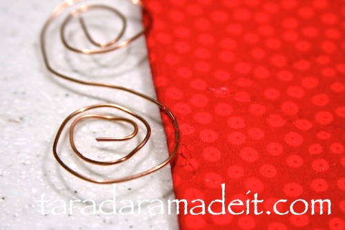 Holiday handmade sewing craft