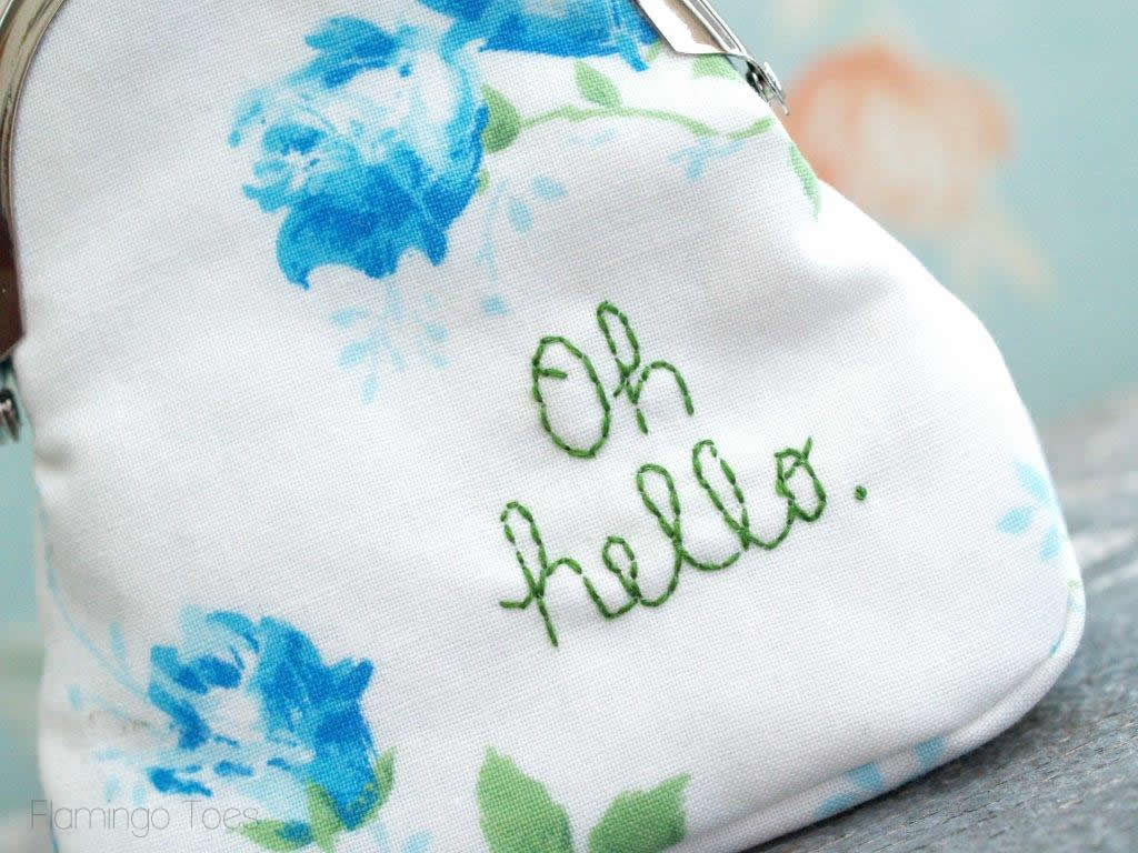 Oh Hello Embroidery