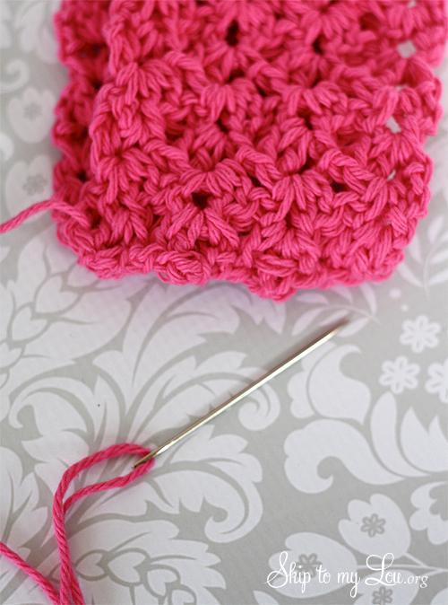 crochet ear warmer step 3