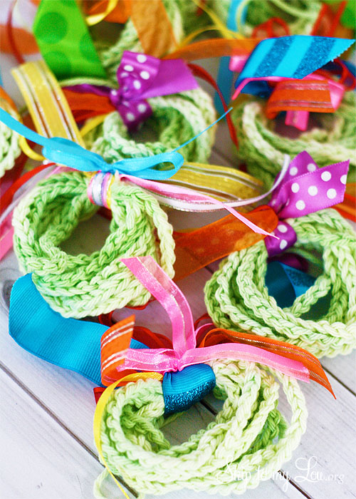 Crochet Wreath Ornaments