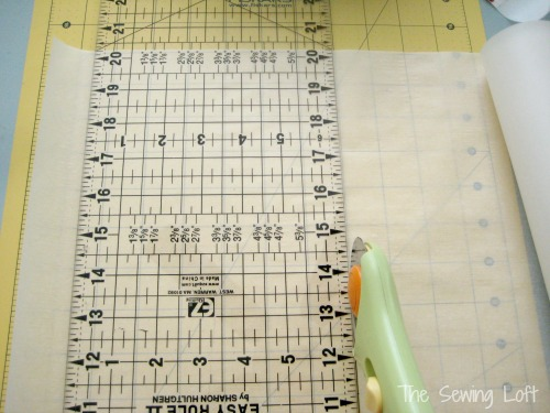 Create Parchment Trim Paper Bags with The Sewing Loft