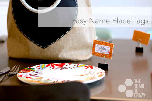 easy name place tags