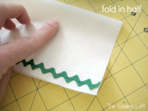 Create Parchment Trim Paper Bags with The Sewing Loft for easy holiday packaging.