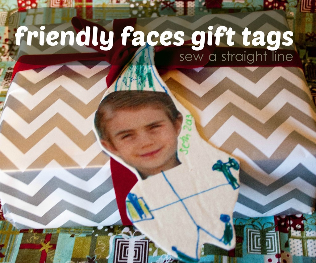 friendly faces tags sew a straight line-1-2d