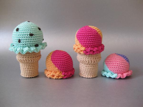 Crochet Ice Cream Cone Skip To My Lou