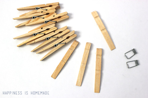Clothespin Snowflake How To Tutorial