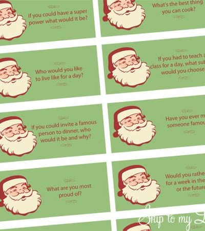 christmas conversation questions