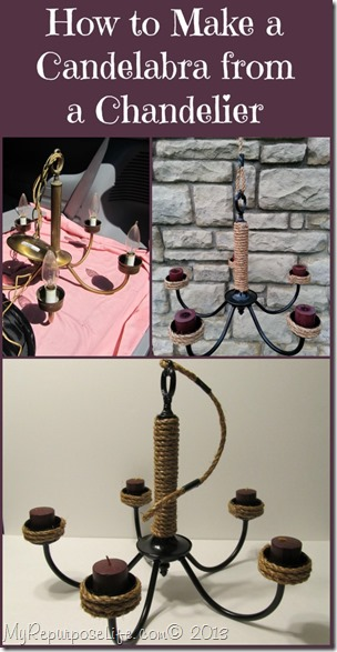 How to Make a Candelabra