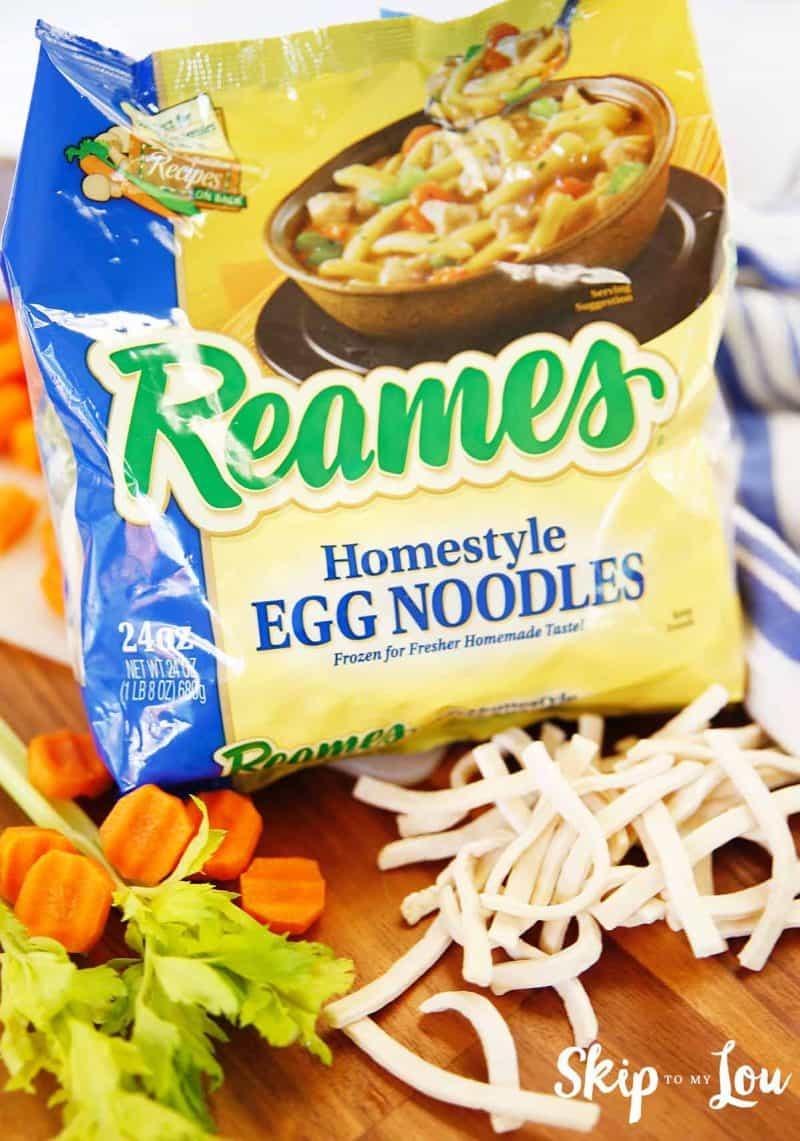 frozen egg noodles