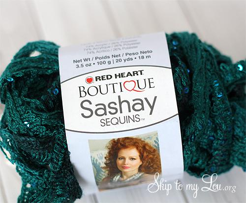 Sashay Sequins Yarn