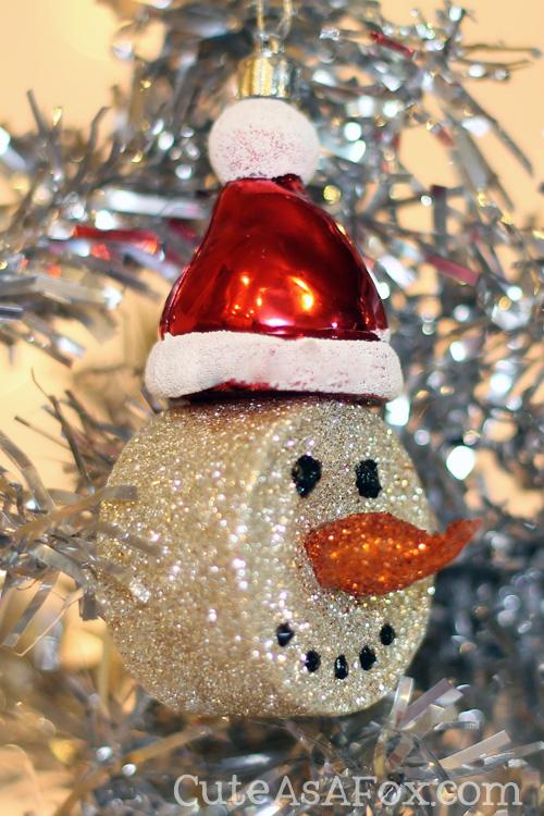 Snowman Tea Light Ornaments By Cute As A Fox Skip To My Lou