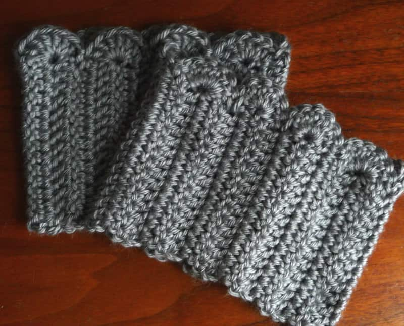 Crochet Boot Cuffs Skip To My Lou