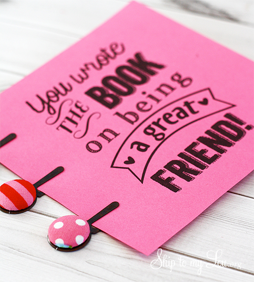 free printable friend gift