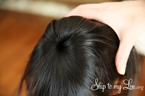 how to make bun in hair step 3