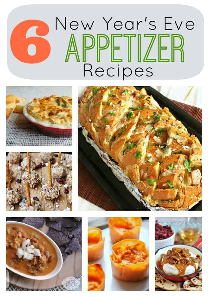 6 New Year S Eve Savory Appetizer Recipes Skip To My Lou