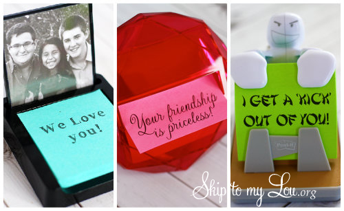 post-it note Collage gift ideas