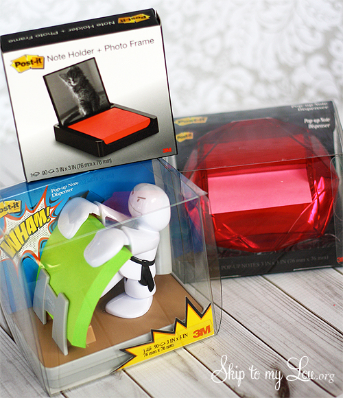 post-it note gift ideas