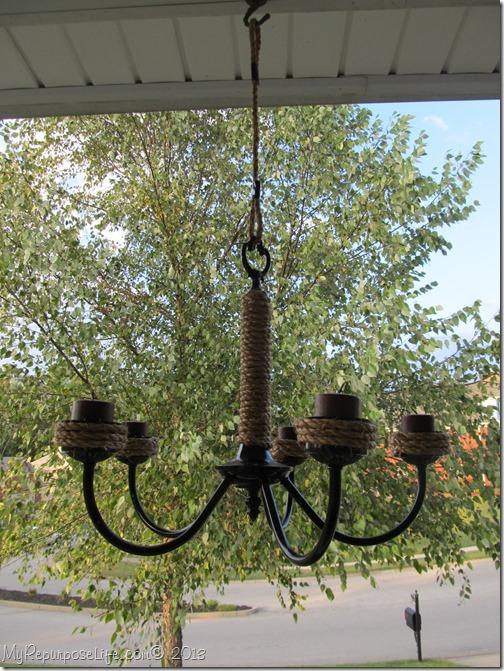 romantic rustic candelabra
