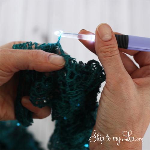 sashay scarf tutorial last step 2