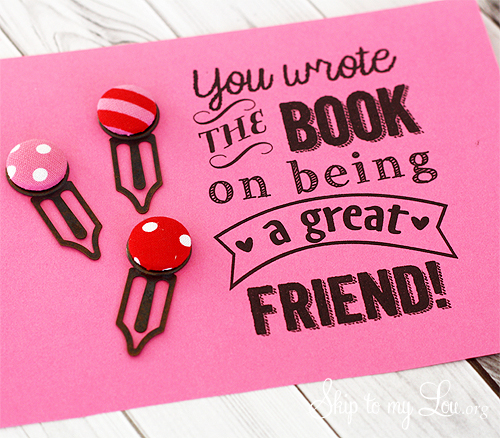 you wrote the book on being a great friend printable