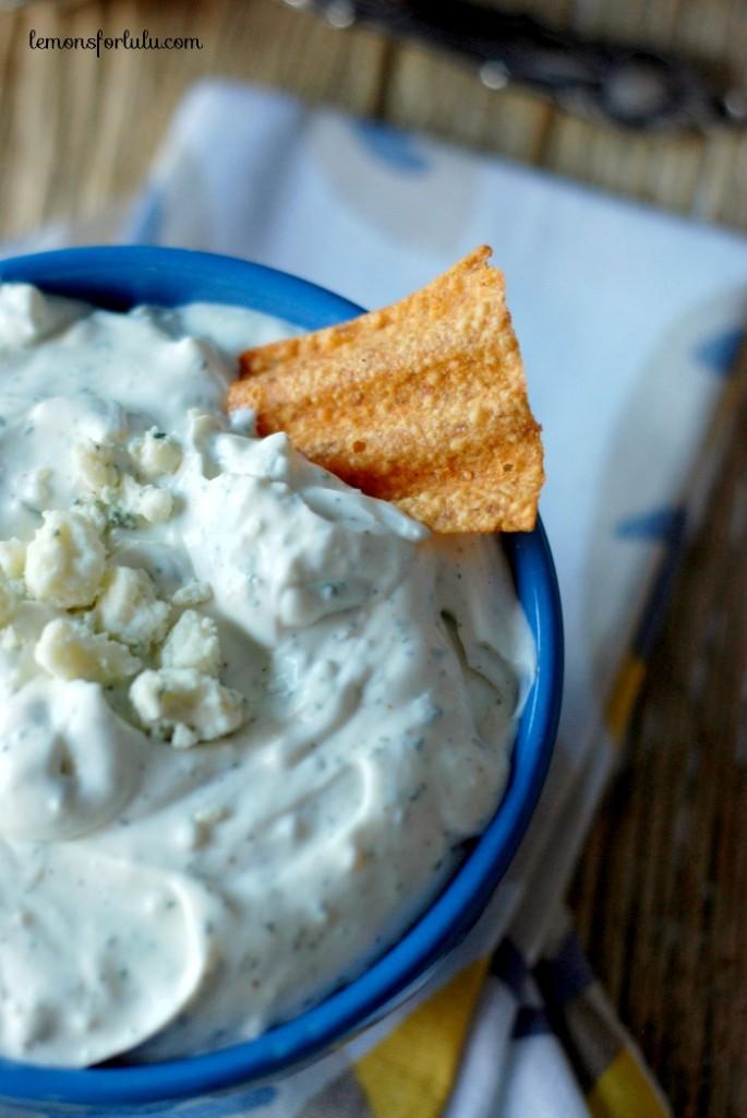 blue cheese ranch dip