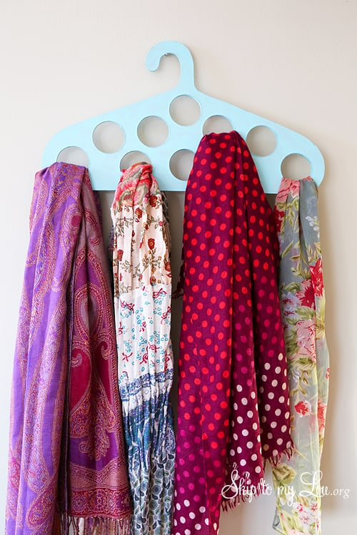 DIY Scarf Hanger Skip To My Lou